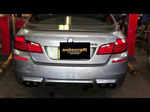 BMW F10 M5 Turner Motorsport Exhaust Upgrade (Before/After)