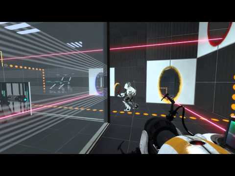 TheDudines play Portal 2 coop - Episode 1