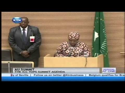 The ICC tops AU summit agenda