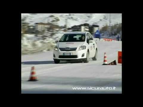 Pneumatici invernali e estivi su Toyota Auris