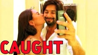 Shahid Kapoor 'CAUGHT RED HANDED' with Sonakshi Sinha