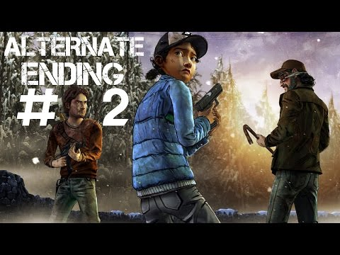 The Walking Dead Game Season 2 Episode 4 - Alternate Choices Ending #2