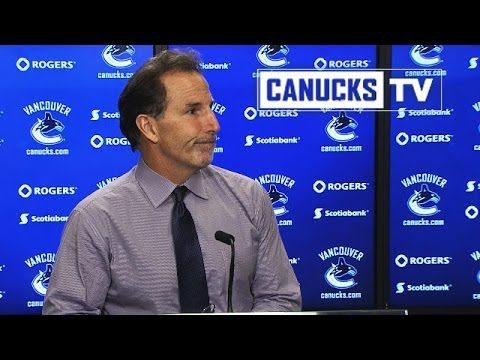 John Tortorella on win over Bruins (Dec. 14, 2013)