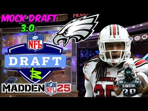 Philadelphia Eagles Mock Draft 3.0 | Dream Mock | Calvin Pryor = Dawkins 2.0