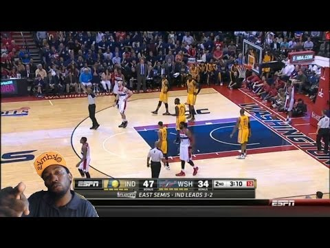 Indiana Pacers vs Washington Wizards Game 6 Nba Playoffs 2014 Pacers  Win Reaction