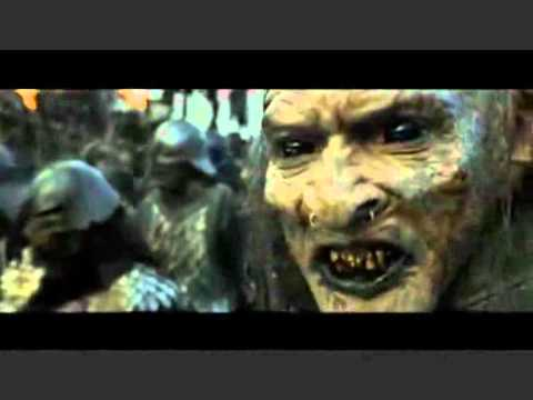The Lord of the Rings - Extended Edition - Becoming Orcs, When Sam and Frodo are in Mordor they try to camouflage like Orcs so they won't get recognised. When they are down the hill they met a battelion of Orcs...
