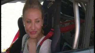 Interview With Cameron Diaz On Auto Stunt For Knight And