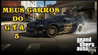 GTA 5 CARROS TUNADOS DO FRANKLIN(video Antigo)