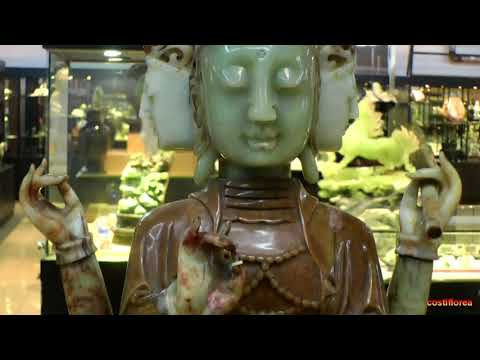 Trip to China part 6 - Beijing,Jade Factory and Gallery - Travel video HD