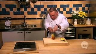 Como pelar y cortar un mango