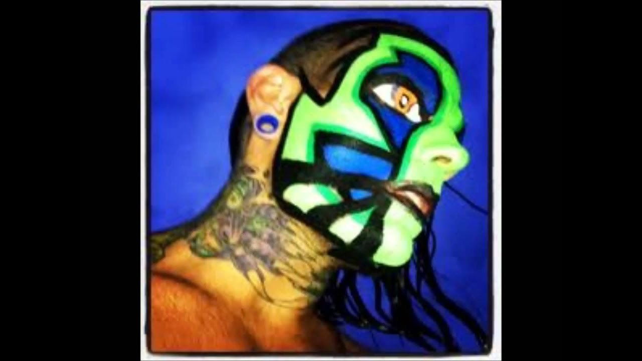 Jeff Hardy Face Paint - YouTube