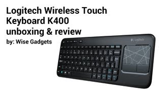 HTPC Keyboard Review (K400 Plus, Microsoft All-In-One Media) - YouTube