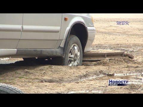 Окраины Бердска: во власти пыльных бурь
