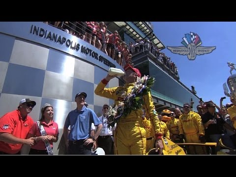 2014 Indy 500 Race Interviews