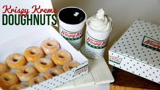 Krispy Kreme Doughnuts & Coffee Tutorial : How To Make