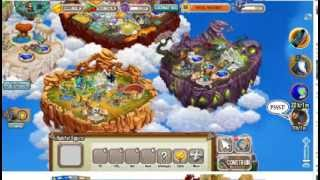 HACK PARA DESBLOQUEAR TODAS AS ILHAS DRAGON CITY 2014
