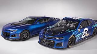 Chevrolet to run Camaro ZL1 in 2018 Monster Energy NASCAR Cup Series. Гонки Наскар. Смотреть видео Nascar
