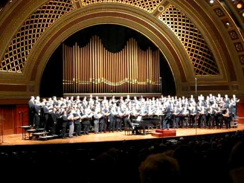 University of Michigan Mens Glee Club 150th,  Blow Ye the Trumpets