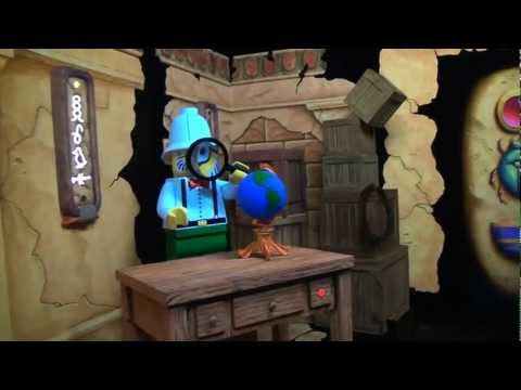 Lost Kingdom Adventure Dark Ride Attraction POV Legoland Florida On-Ride Sally Corp