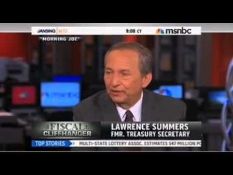 DeFazio: Larry Summers Was a 'Disaster as an Adviser to Obama'