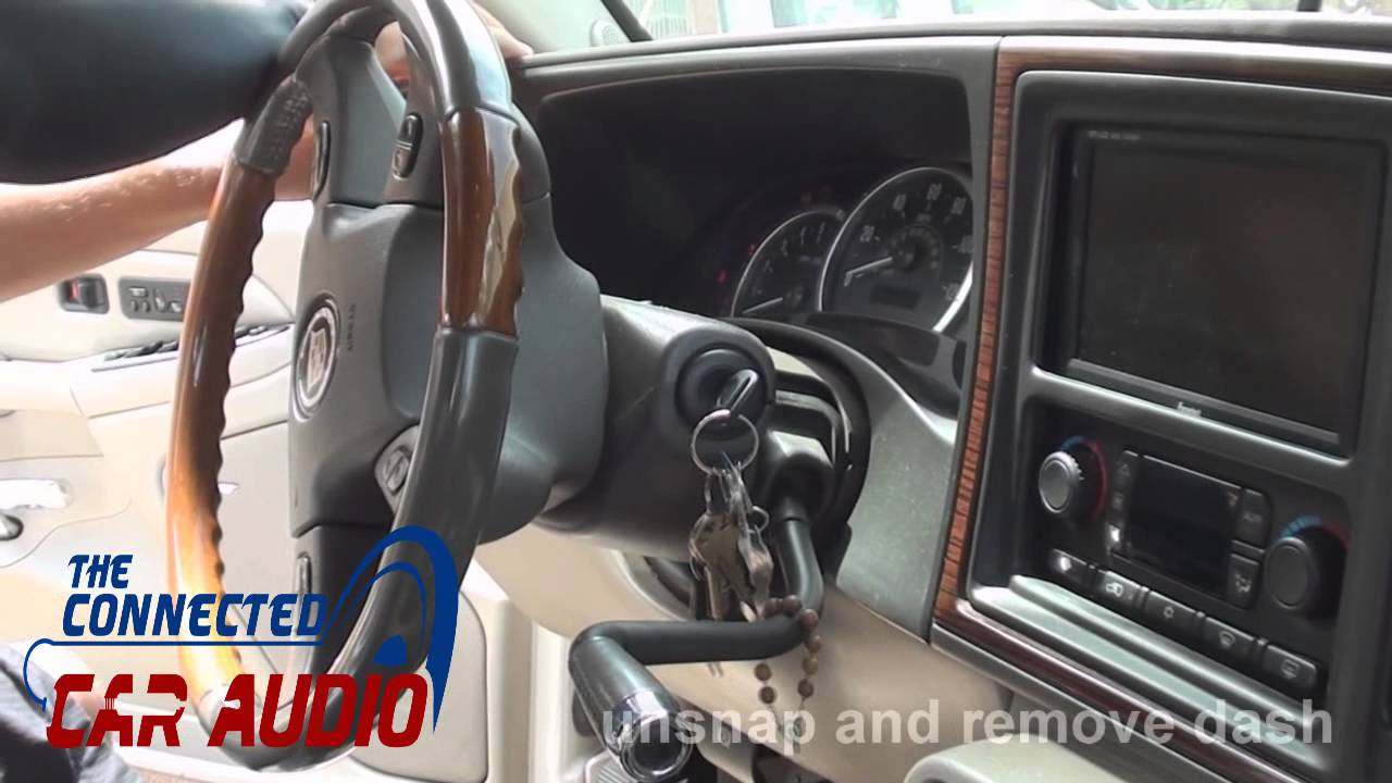 2002 cavalier stereo wiring harness how to remove factory    stereo    cadillac escalade 2003 2004  how to remove factory    stereo    cadillac escalade 2003 2004