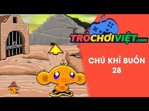 Game chú khỉ buồn 28 - Video hướng dẫn cách chơi game