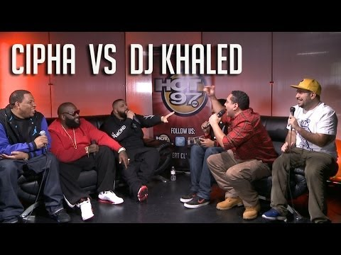 Dj Khaled vs. Cipha Sounds !!! : Sh#t gets Heated