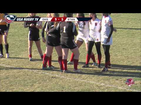 2013 USA Rugby College 7s National Championship: Ohio State vs  Stanford