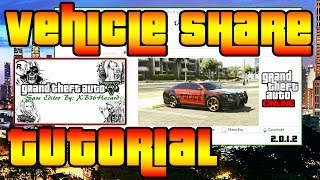XB36Hazard Vehicle Share Tutorial GTA 5 Online