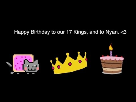Happy Birthday Nyan Cat...and King of the Web!