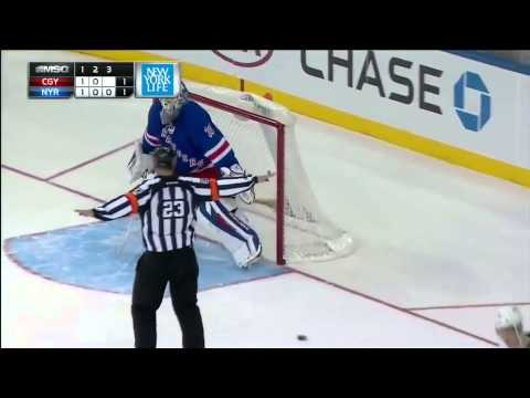Calgary Flames @ New York Rangers Shootout 12/15/13