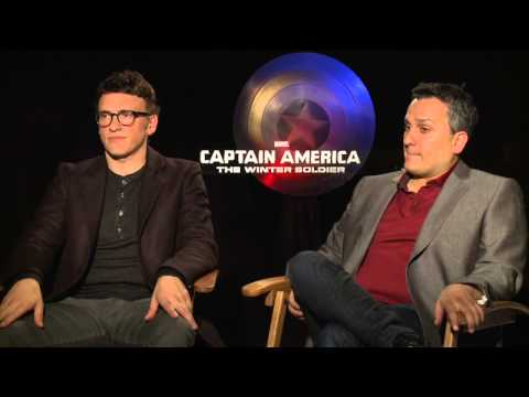 Captain America: The Winter Soldier: Directors Anthony & Joe Russo Official Movie Interview