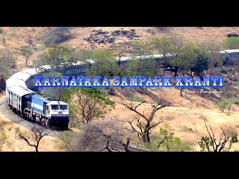 KARNATAKA SAMPARK KRANTI : Pune to Bangalore....