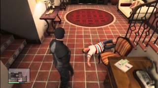 Grand Theft Auto 5 Rare Mission Michael KILL's Jimmy