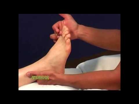 Curso de Reflexologia Podal: Tratamento do pê.  Movimentos básicos no pé. EDUBRAS online.
