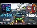 Ryzen 5 2400G vs i3 8100 Test in 8 Games