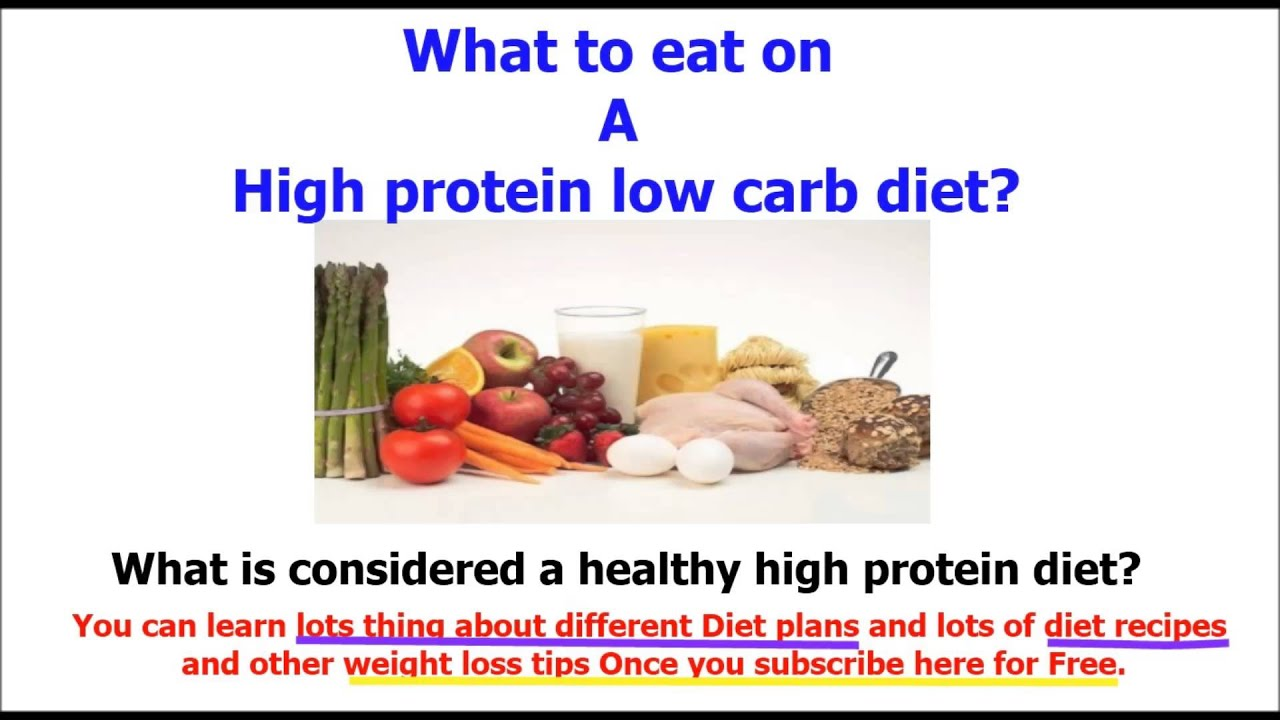 food with high protein The healthy high protein foods list (below), for a high protein diet, includes all the healthy protein rich foods high in protein content and our free high protein foods list printout has what you need for a healthy high protein diet.