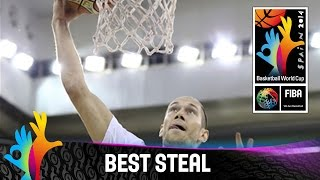France v Egypt - Best Steal - 2014 FIBA Basketball World Cup