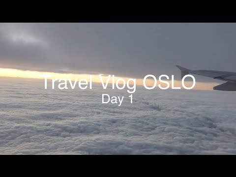 TRAVEL VLOG Oslo (Day 1) - FranklyFranca