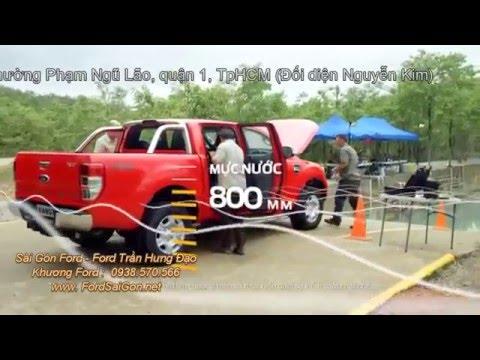 Khả năng lội sâu của Ford Ranger