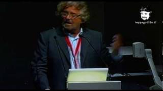 Assemblea azionisti Telecom Italia - intervento di Beppe Grillo view on youtube.com tube online.