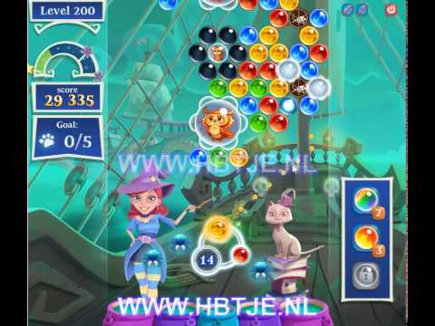 Bubble Witch Saga 2 level 200