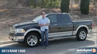 2013 RAM 1500 Laramie HEMI Test Drive & Pickup Truck Video