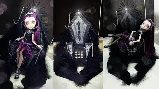 How To Make A Raven Queen Evil Throne [EVER AFTER HIGH