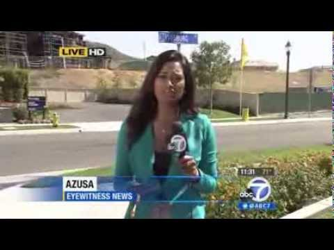 ABC 7 Reports On Rosedale Fires