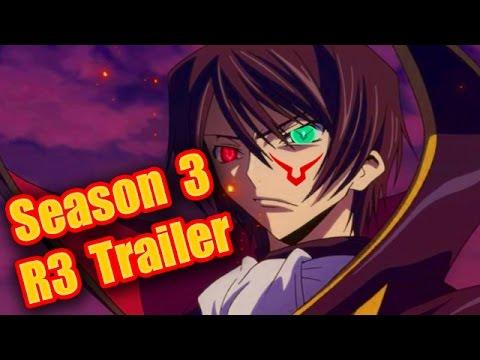 Code Geass R3 Season 3 Sequel PV Trailer!! Code Geass Lelouch of the Revival PV Trailer Analysis