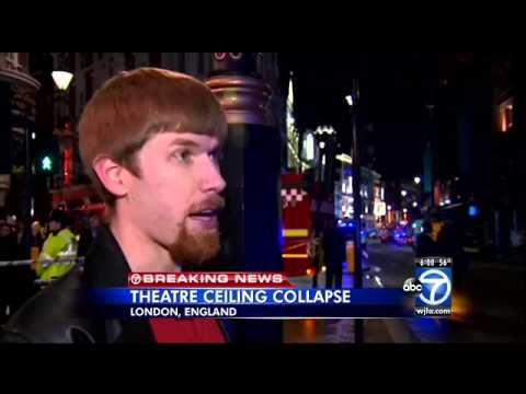 Apollo Theatre collapse injures over 80, police say