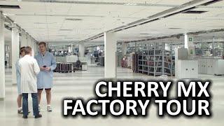 Cherry MX Factory Tour - Linus & Luke do Auerbach, Germany