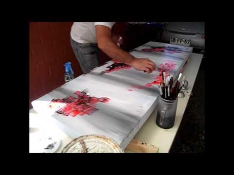 Los cuadros abstractos te complican la vida for Como pintar un cuadro abstracto
