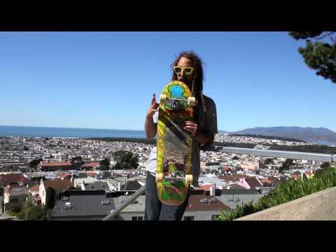 California Bonzing Skateboards: Da Kine Setup